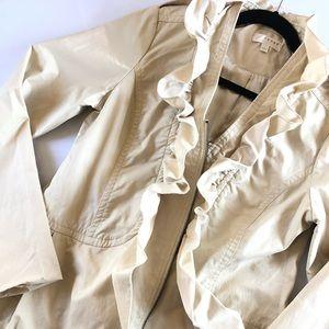Jackets & Blazers - Kenmar Ivory Coat